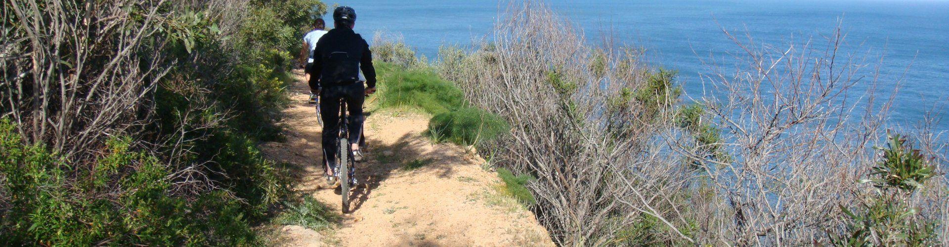 Escursione in bici nei pressi di Chia