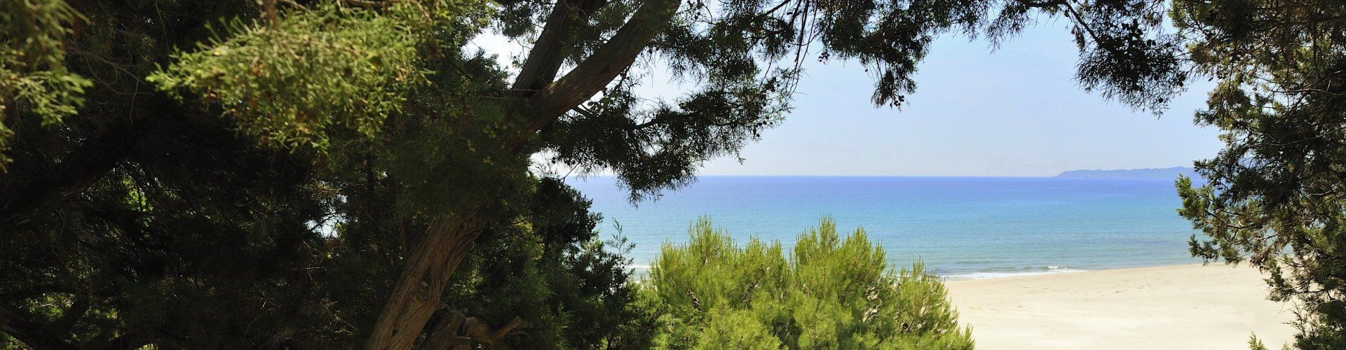 Vista dalla terrazza di Bau Cannas