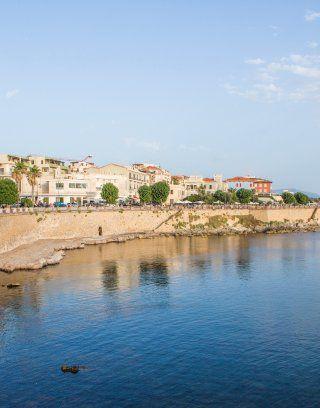 Alghero nel nord-ovest della Sardegna