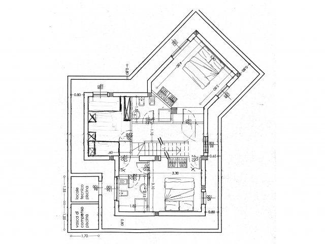 Planimetria Sottopiano
