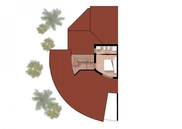 Planimetria secondo piano