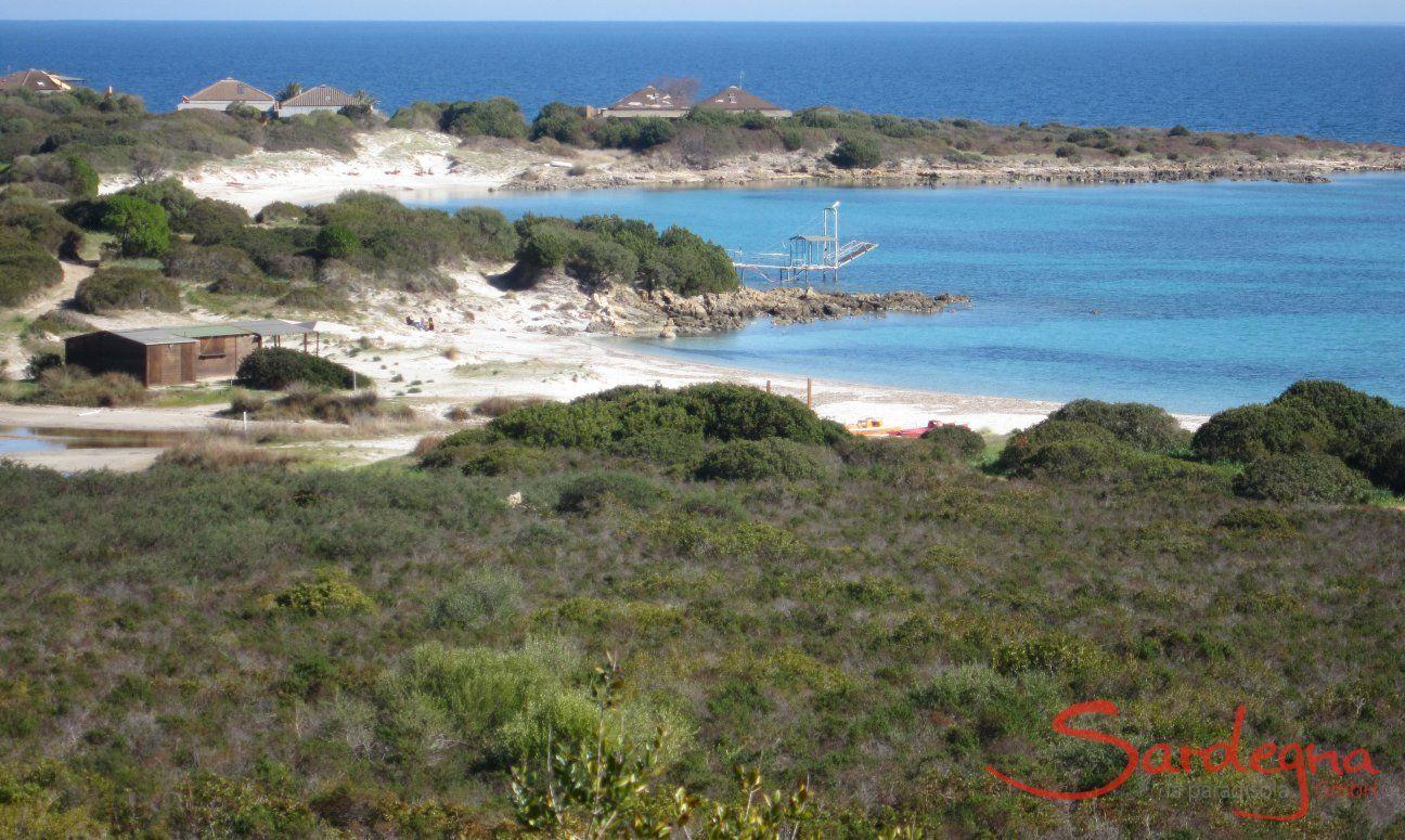 Spiaggia Nodu Pianu - 5 minuti di auto
