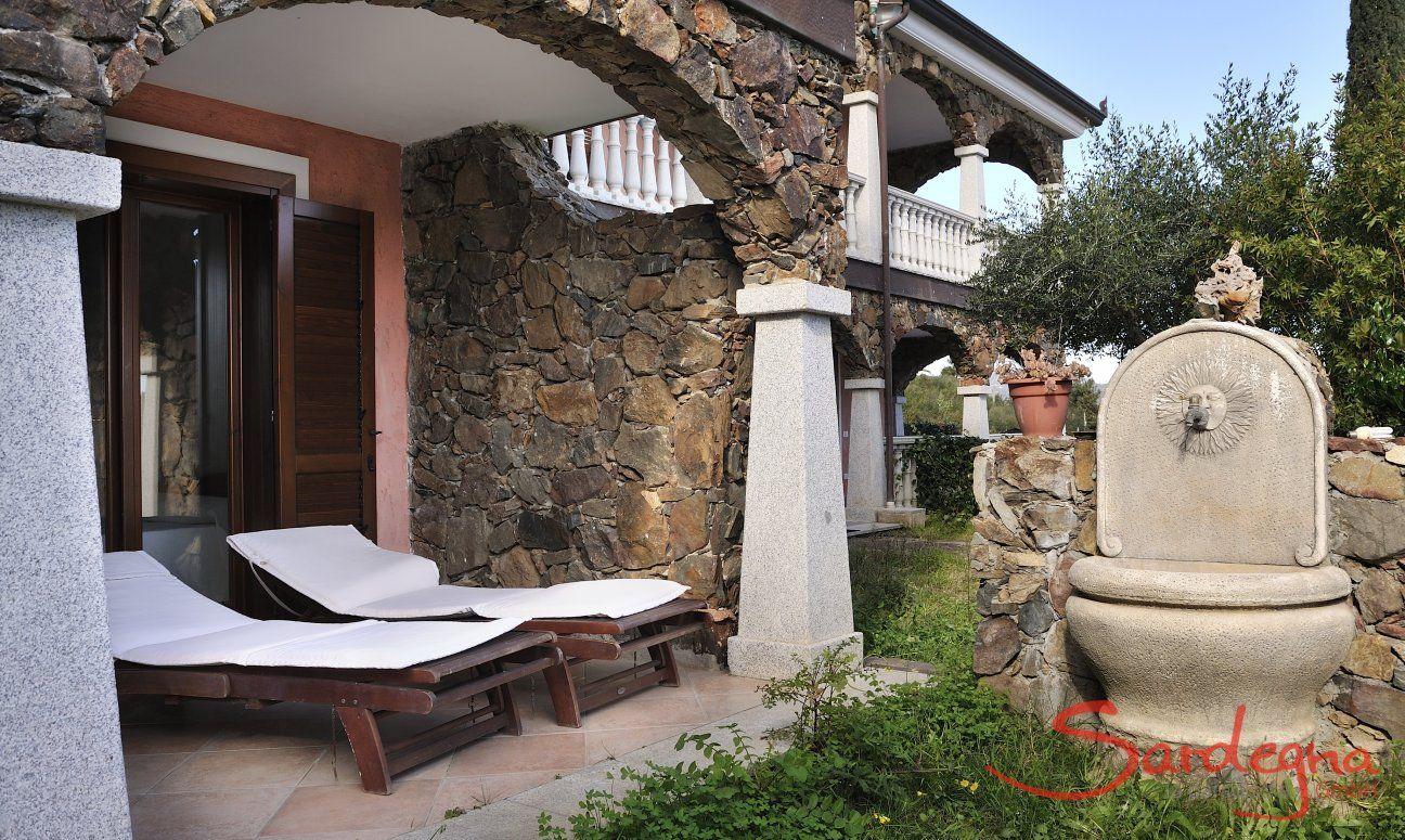 Terrazza + giardino