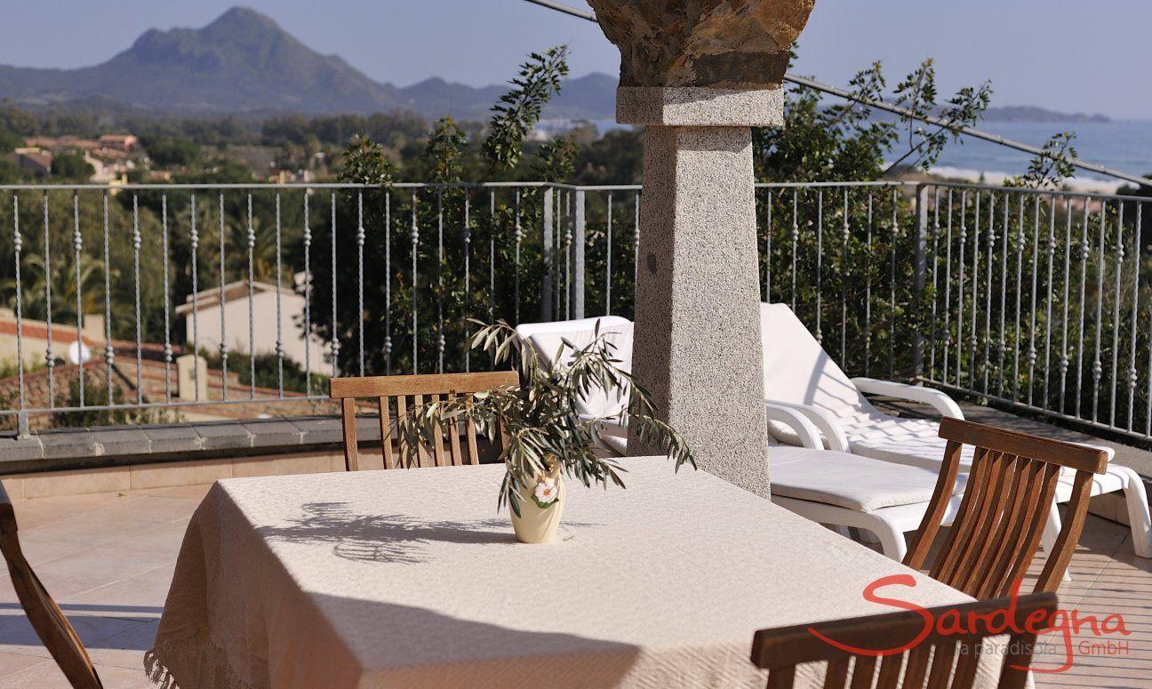 Tavolo della terrazza