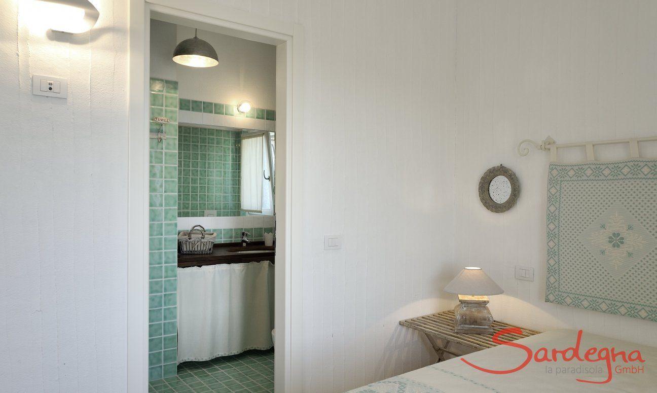 Camera da letto 1 con vista bagno