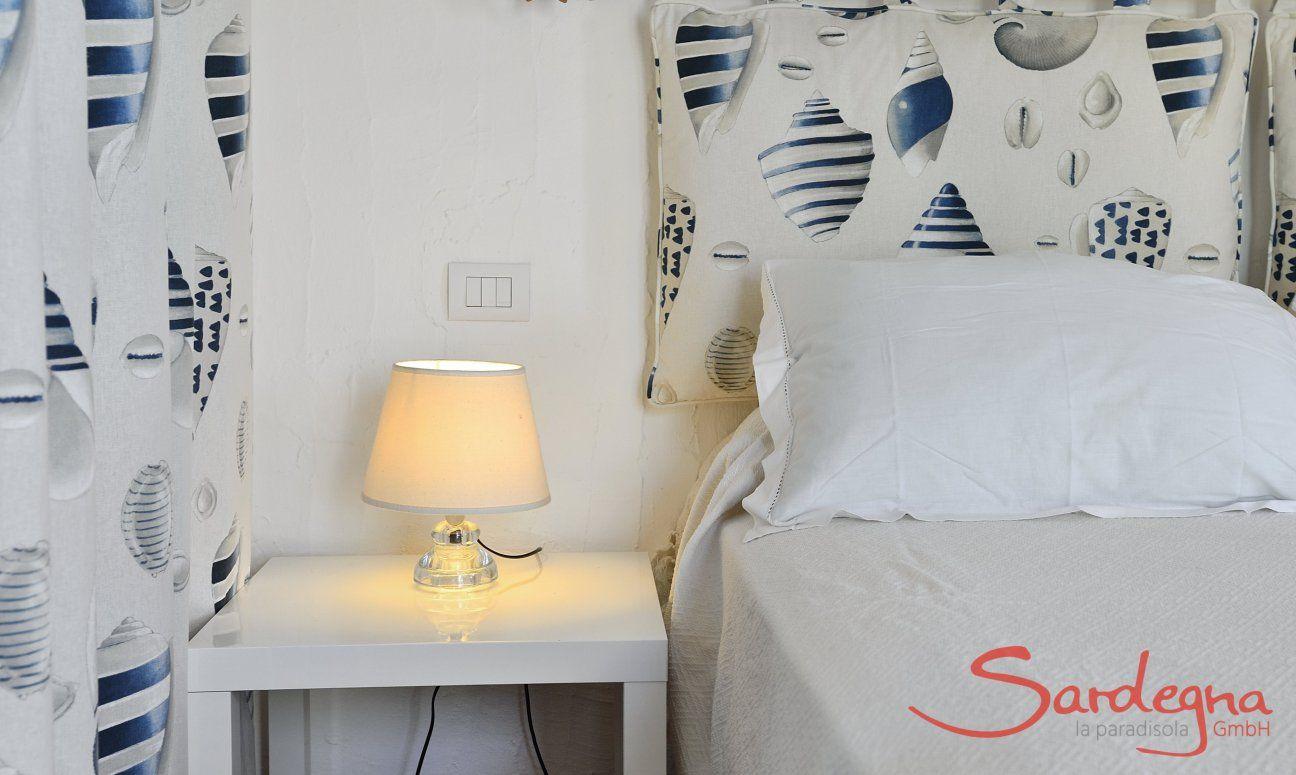 Camera da letto con deco stile mare  Casa 20, Sant Elmo