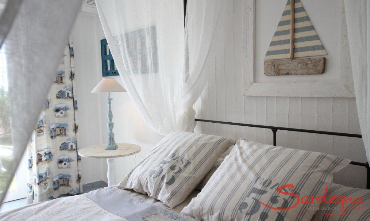 Camera da letto seminterrato
