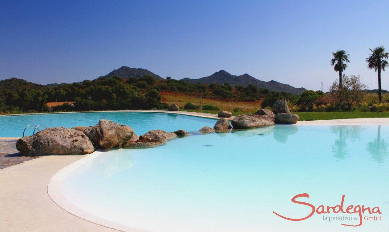 Grande piscina in comune con vasca per bambini