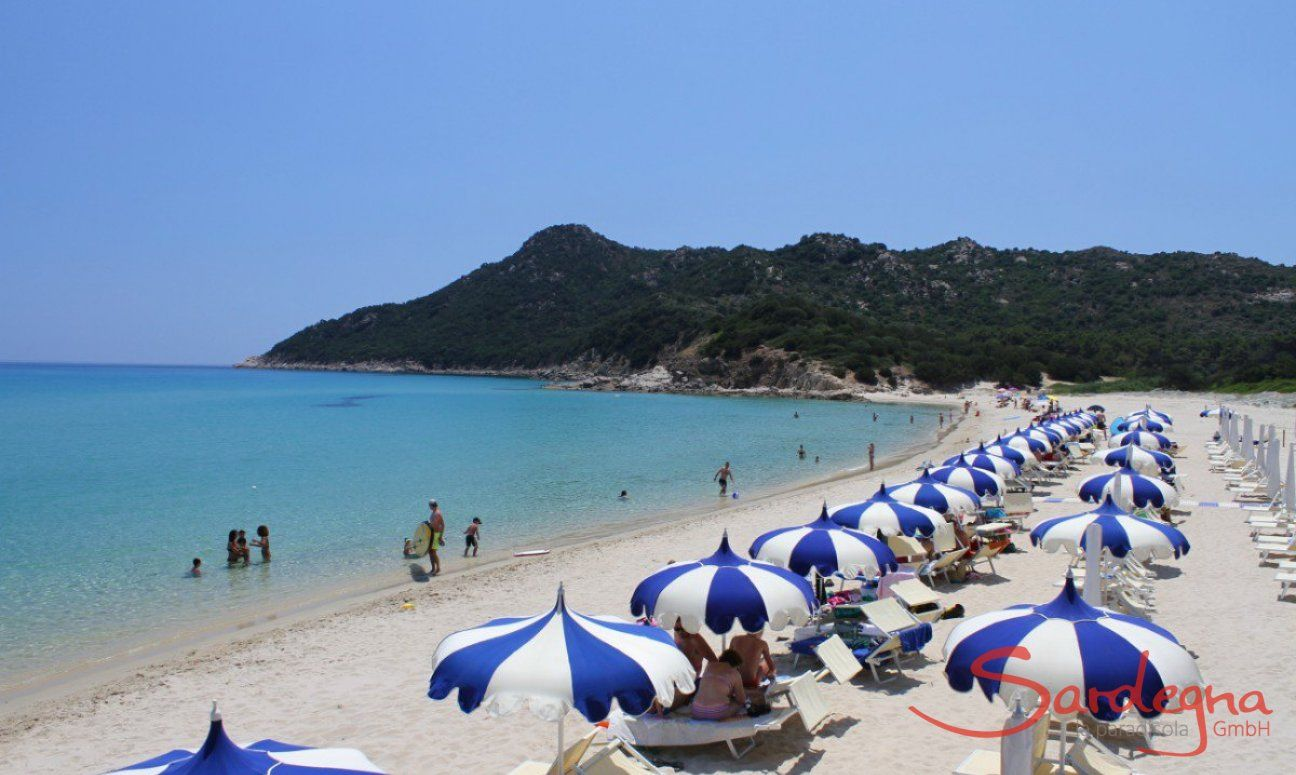 Spiaggia, Cala Sinzias