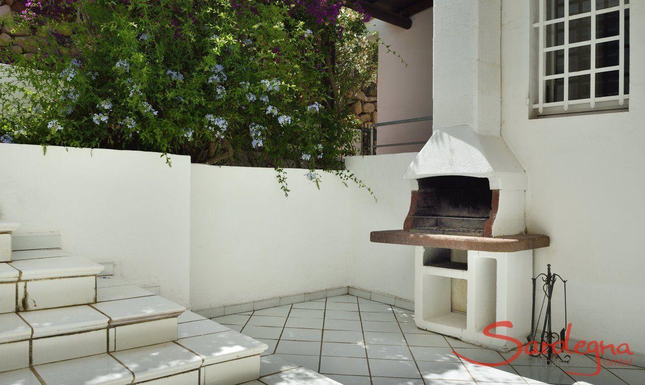 Barbecue in terrazza