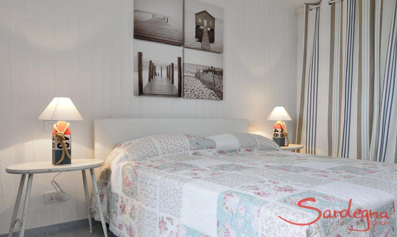 Camera da letto 3 semiinterrato