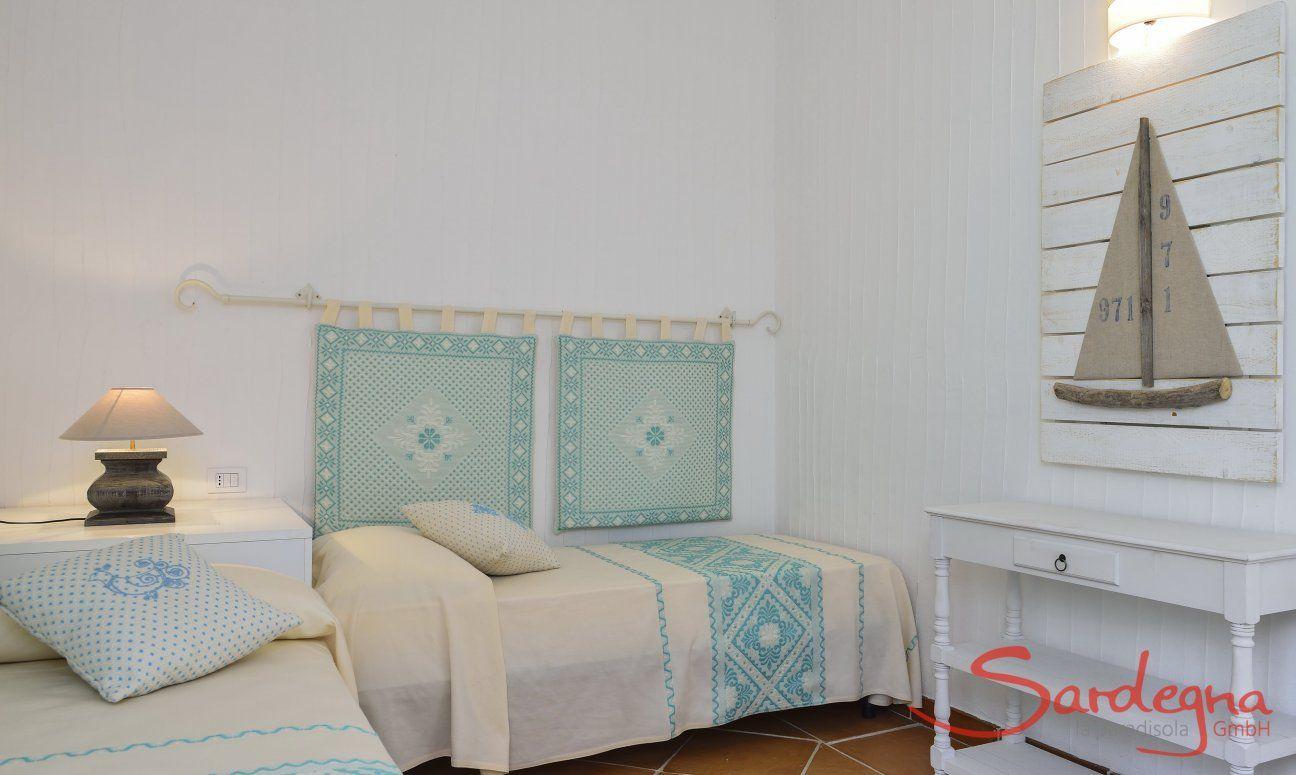Camera con due letti singoli Li Conchi 7