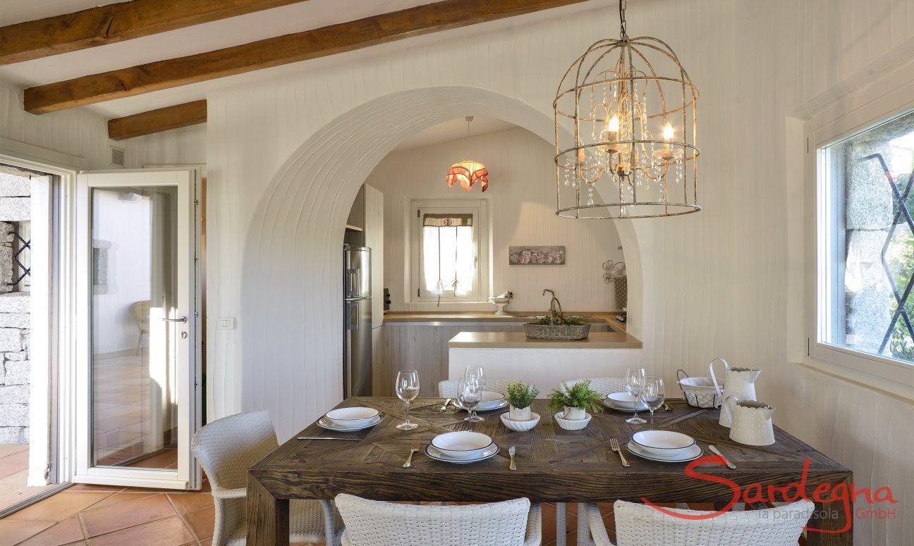Tavolo da pranzo e cucina Li Conchi 9, Cala Sinzias