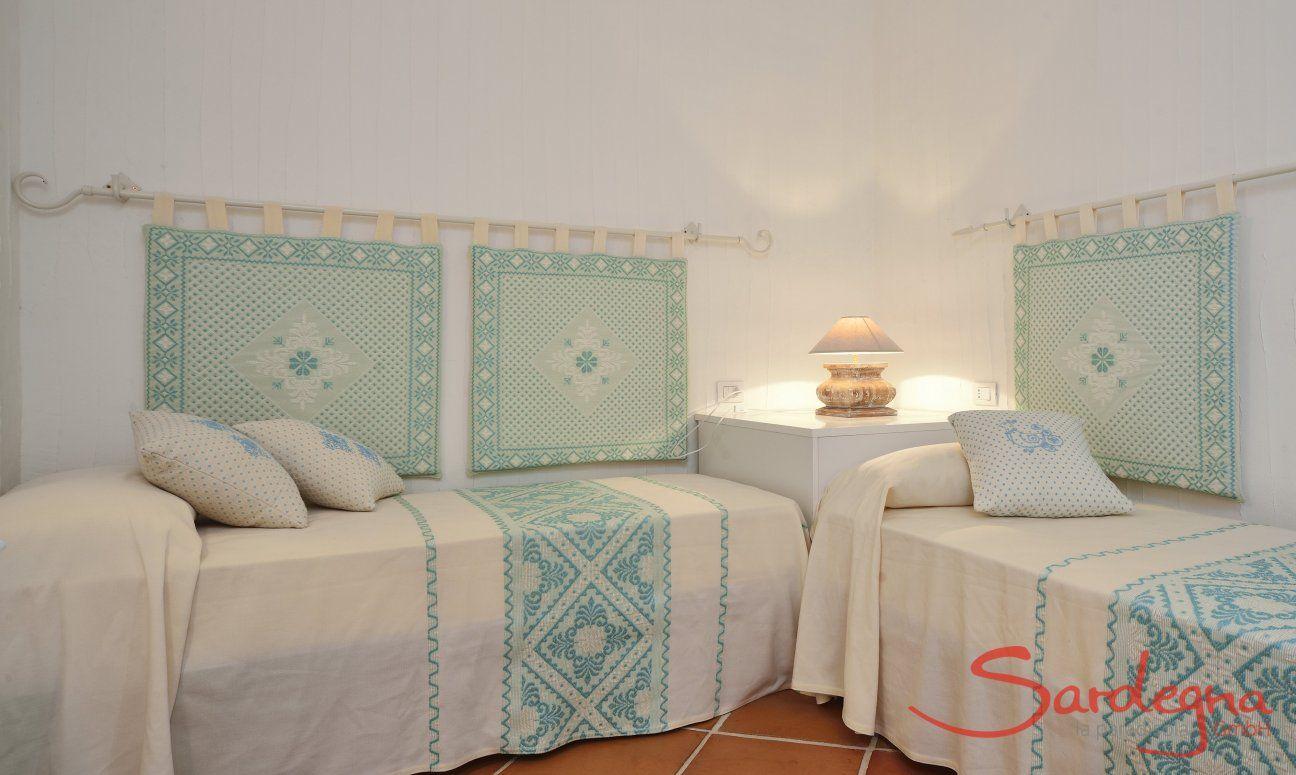 Camera con due letti separati Li Conchi 10, Cala Sinzias