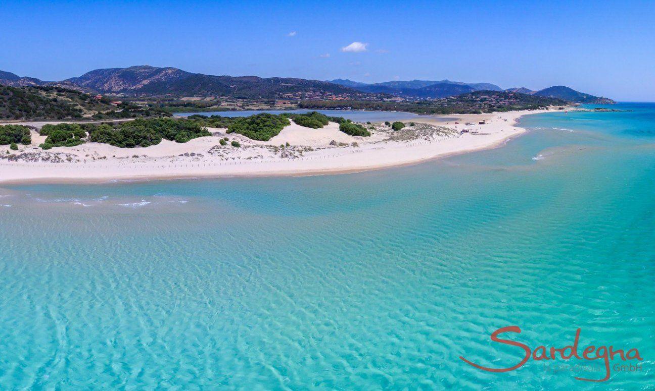 Panorama, Strand von Chia