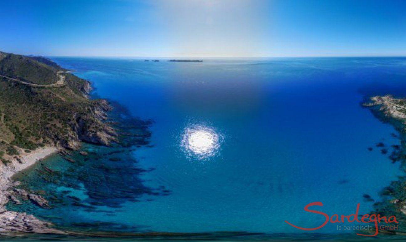 Panorama 360° Villasimius - Isola Serpentara
