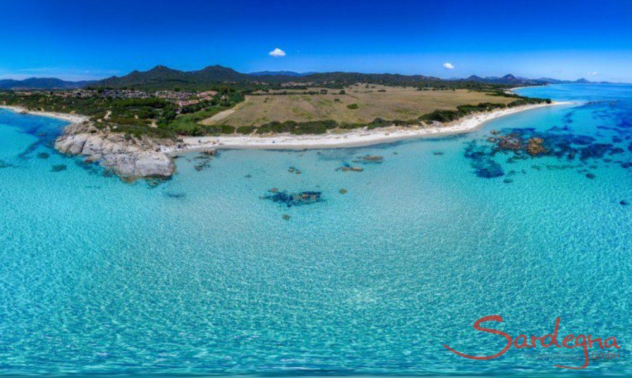Panorama 360° Costa Rei - Monte Turno