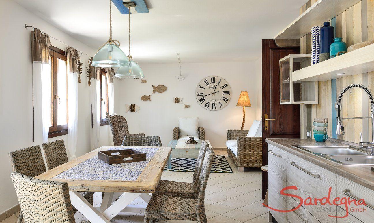 Salotto e cucina