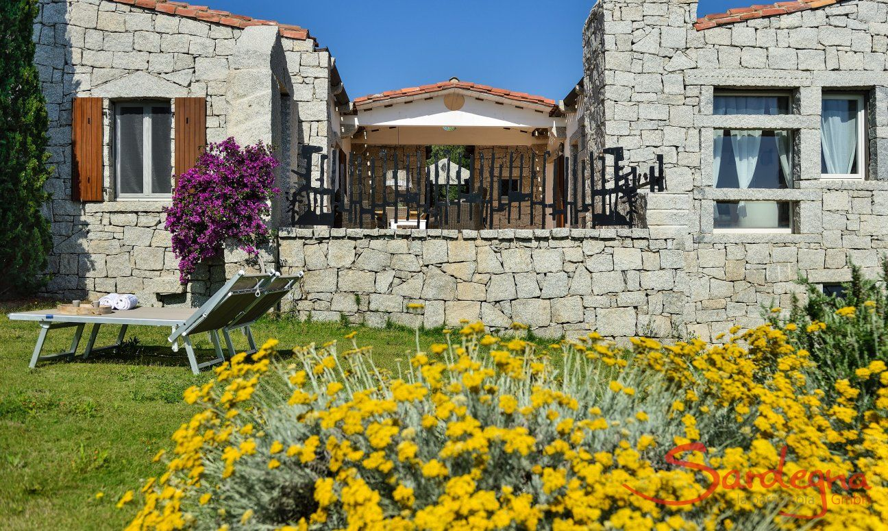 Vista frontale della casa vacanza Li Conchi 5