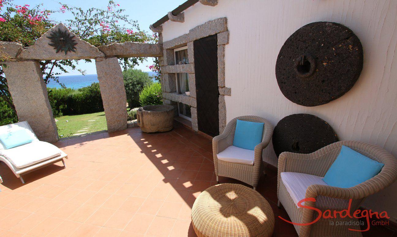Terrazza con mobili esterno, Casa 8, Sant Elmo