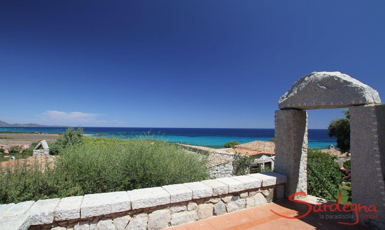 Arco in granito a Sant Elmo, Sardegna del sud