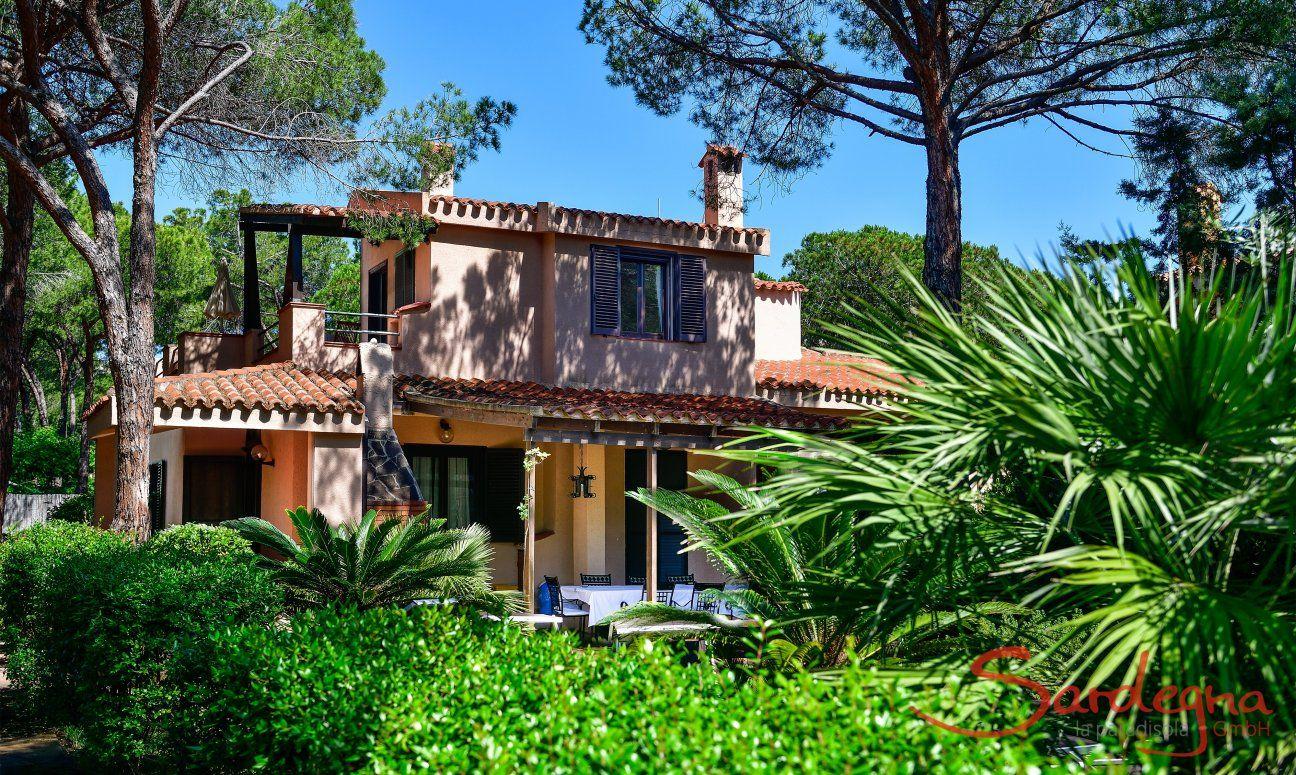 Giardino e Villa Pino (pianterreno)