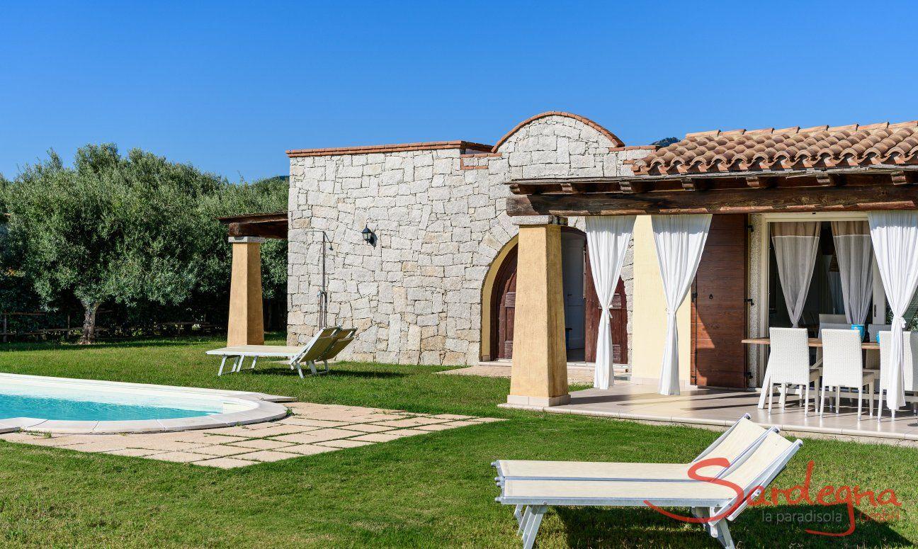 Villa Campidano 20 con giardino e piscina