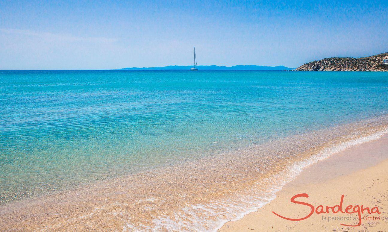 Spiaggia di Solanas, 7 km.