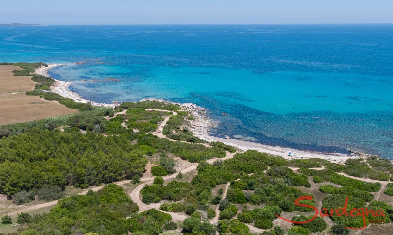 Spiaggia di Sant Elmo, Sud Sardegna