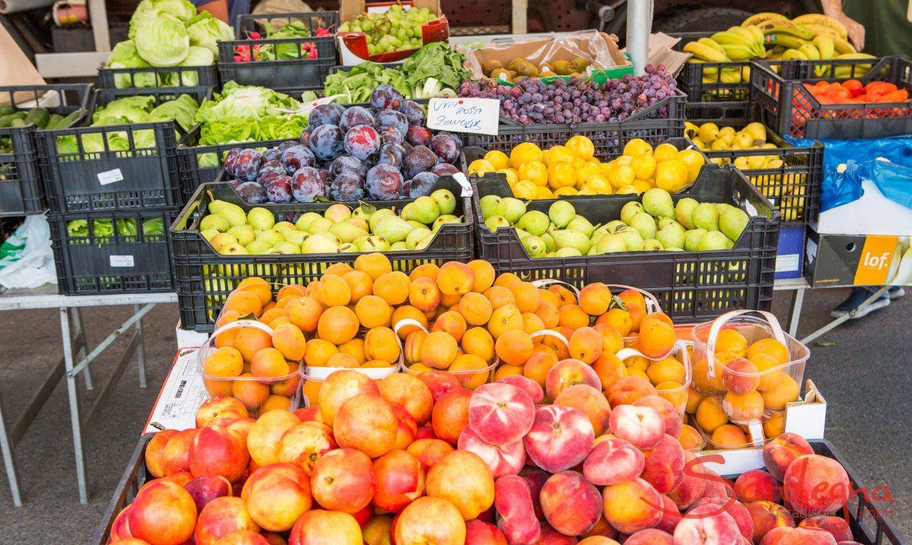Mercato settimanale a Muravera