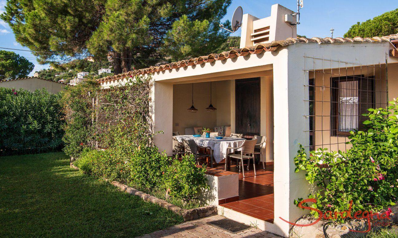 Come Recintare Un Giardino casa vacanze con giardino recintato sul mare a costa rei