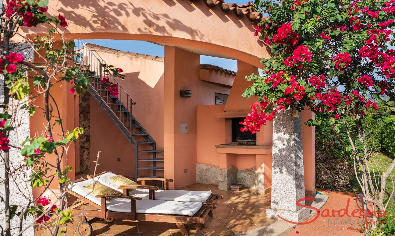 Incantevole Villa Con Terrazza Sul Tetto A Costa Rei