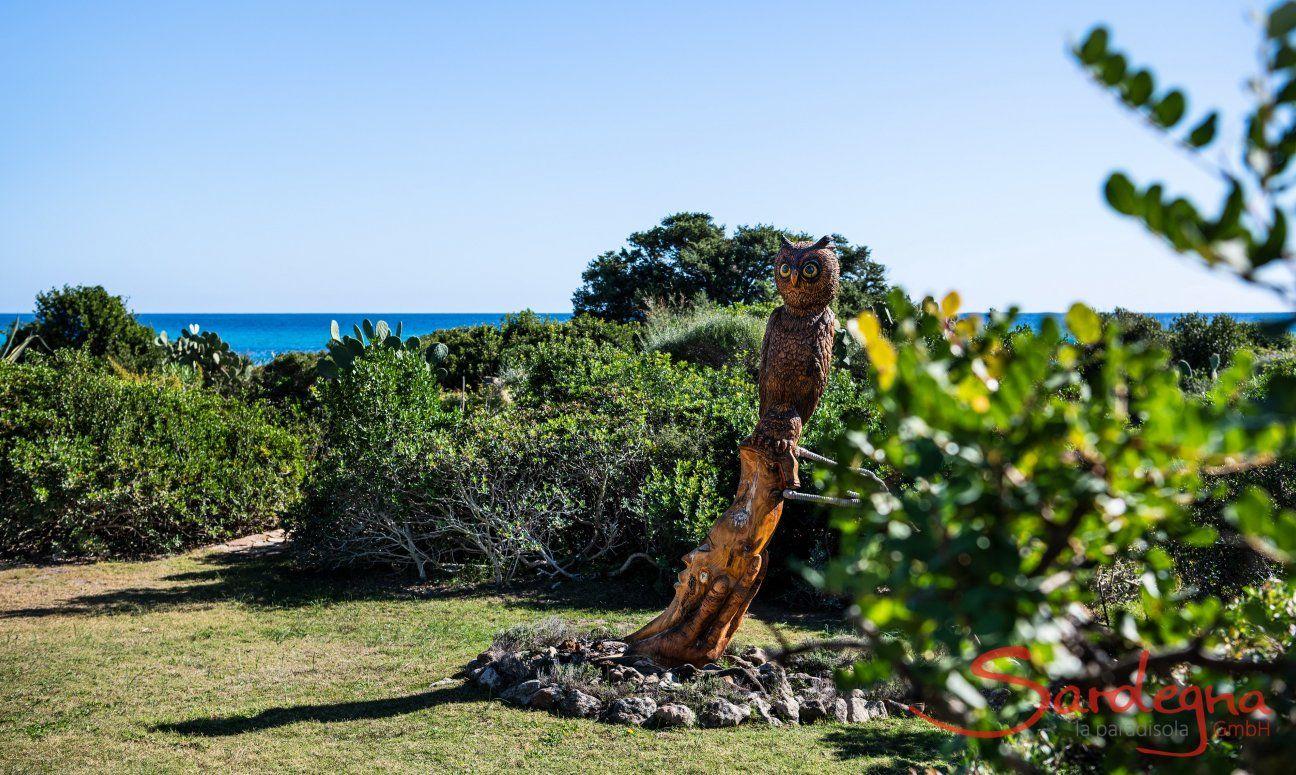 Statua Guffo Villetta 3 Costa Rei