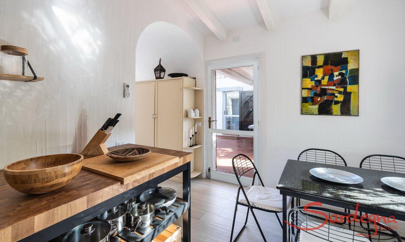 Cucina e dettagli Casa 1 Sant'Elmo