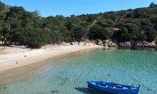 Spiaggia Cala Moresca, Golfo Aranci, 15 minuti