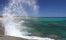 Spiaggia e il mare di Sant Elmo