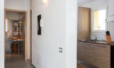 Corridoio bagno e cucina