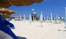 Bar in spiaggia Cala Sinzias