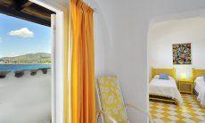 Dependance con Camera da letto e vista mare