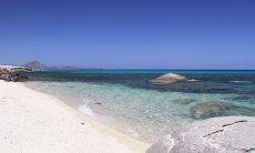 Spiaggia bianca di Sant Elmo