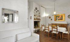 Sala da pranzo con salotto,  Villa Serena, Costa Rei