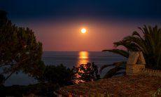 La luna sul mare di Sant Elmo