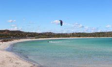 Strand Lu Impostu con kiter