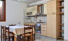 Cucina nel seminterrato