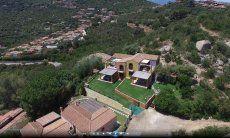 Villa Orchidea, vista aerea