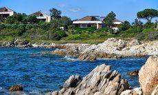Villa vista dal mare