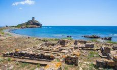 Il sito archeologico di Nora è uno dei più importanti in Sardegna