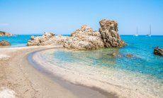 Rocce bellissime a Capo Ferrato