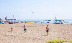 Beachvolley sulla spiaggia di Torresalinas