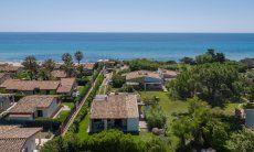 Vista aerea, Villa Serena, Costa Rei